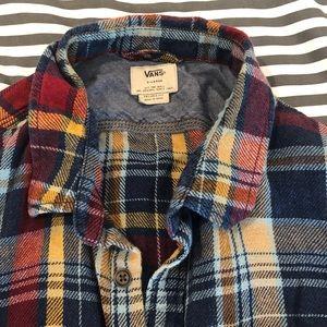 Men's button down flannel long sleeve